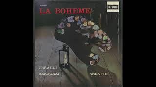Silent Tone Record/プッチーニ:ラ・ボエーム/トゥリオ・セラフィン指揮聖ローマ聖チェチーリア音楽院管弦楽団、レナータ・テバルディ、ジャンナ・ダンジェロ、カルロ・ベルゴンツィ,他