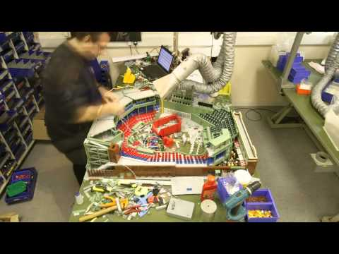 LEGO® replica of Fenway Park time-lapse video