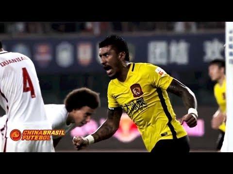 Todos os gols de Paulinho no futebol chinês