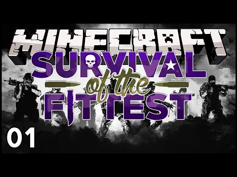 Minecraft - Survival of the Fittest : Don't Shoot Me! - S02E01