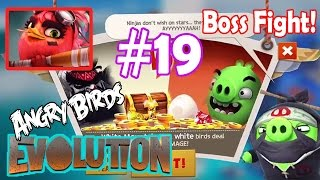 Angry Birds Evolution: Gameplay Chapter-10 The Irate Capades Level 45-47 Final Boss Fight!