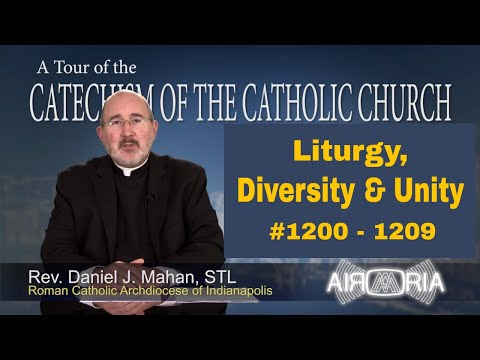 Tour of the Catechism #39 - Liturgy, Diversity & Unity