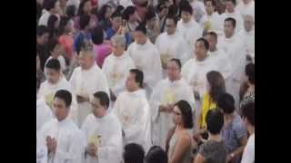 CHRISM MASS 2015, SAN FERNANDO CATHEDRAL, PAMPANGA