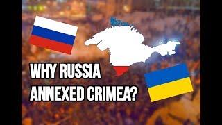 Crimea Explained | Why Russia annexed Crimea from Ukraine