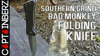 Bad Monkey Folding Knife by Southern Grind