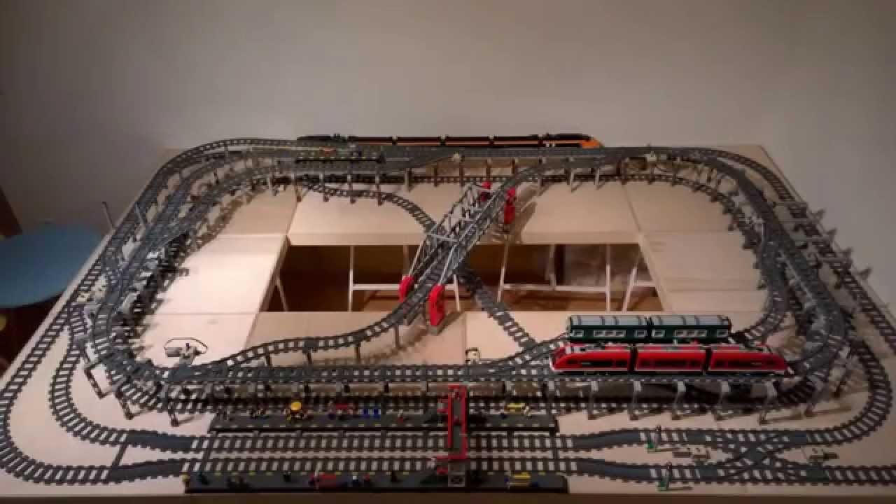 ultimate compact lego train layout youtube