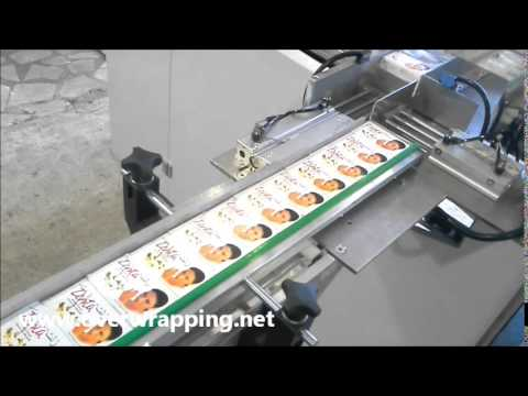 Soap Box Automatic Receiving, Stacking, Bundling & Over-wrapping Machine