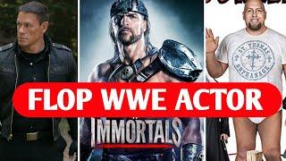 Flop WWE Wrestler in Hollywood Movies ! WWE Wrestlers in Movie !