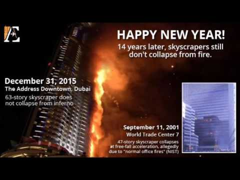 9/11 Free Fall 1/7/16: The Dubai High-Rise Fire and Other Issues