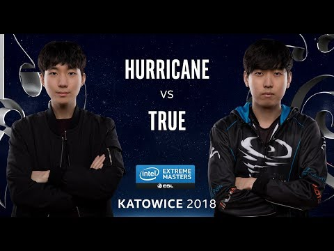 StarCraft II - Hurricane [P] vs. TRUE [Z] - Ro24 - Group B - IEM Katowice 2018