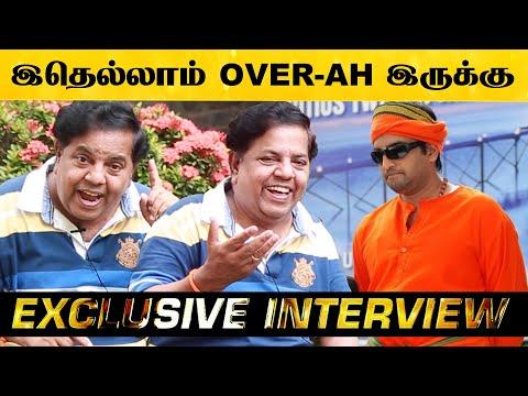 அவரு கூட நடிச்சது பெருமையா இருக்கு! - Interview With Lollu Sabha Swaminathan | Mathil Movie | HD
