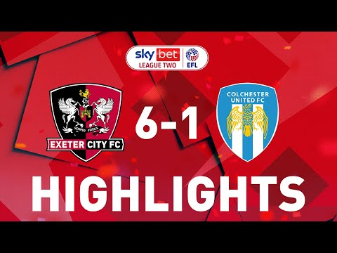 Exeter City Colchester Goals And Highlights