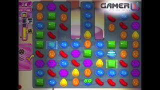 Candy Crush Saga - How to Pass Level 208 (with commentary)