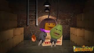 Annoying Orange sings the Dora theme song