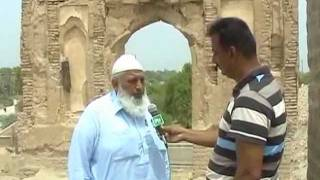 muhammad bin qasim mosque arore situation  report by malik imran ptv news sukkur