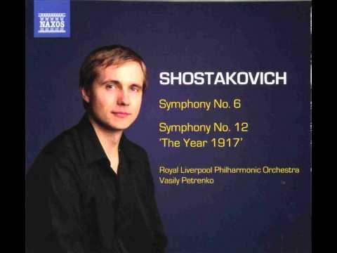 Shostakovich Symphony No.12 in D minor 'The Year 1917' op.112 - 1. Revolutionary Petrograd