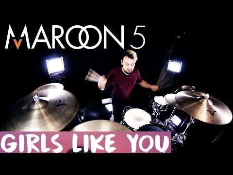Maroon 5 - Girls Like You ft. Cardi B (Drum Remix) videó letöltés