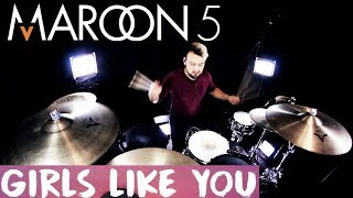 Baixar Maroon 5 - Girls Like You ft. Cardi B (Drum Remix)