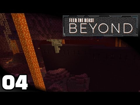 FTB Beyond - Ep. 4: Nether, Better Tools, Smeltery Automation