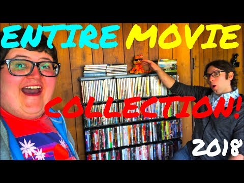 ENTIRE MOVIE COLLECTION 2018 | PAUL'S COLLECTION