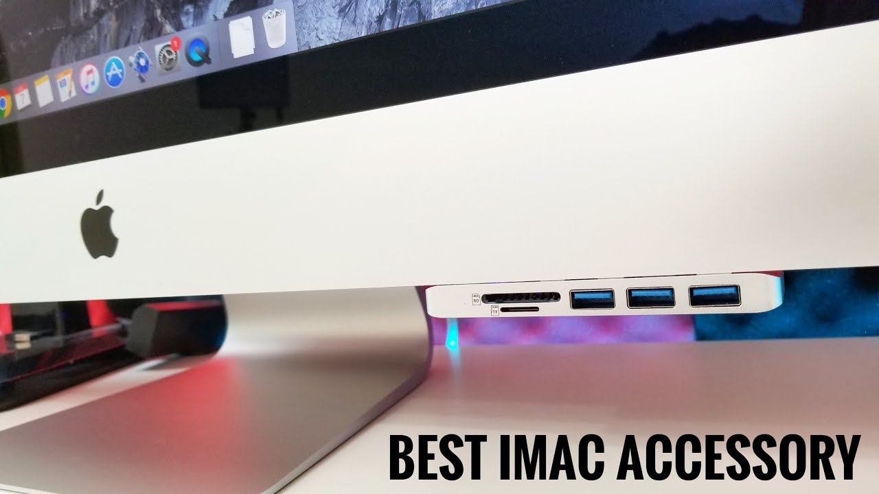5k Apple Imac Must Have Accessory Vosone Youtube