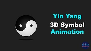 Yin-Yang-3D-Symbol-Animation mit After Effects Tutorial
