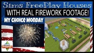 MY CHOICE MONDAY Sims FreePlay House Idea #29 YouTube