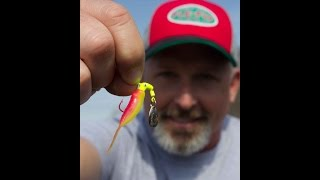 how to rig the fle fly crappie kicker