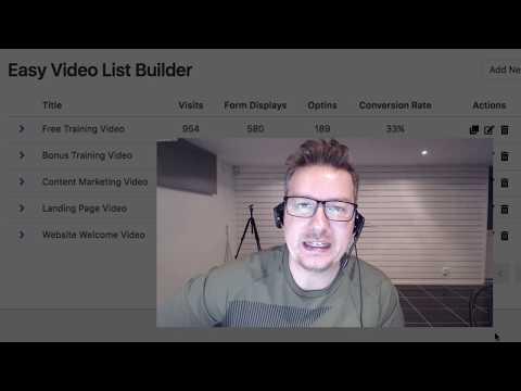 Easy Video List Builder User Guide thumbnail