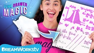 How to Magically Finish Your Homework | JUNK DRAWER MAGIC