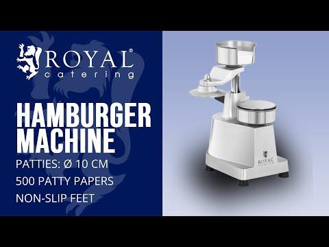 Hamburger Press RCHM-100B | Royal Catering