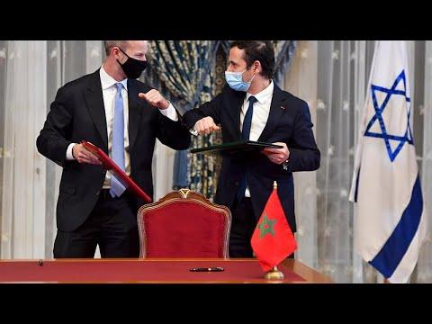 US-Israeli delegation signs deals in Morocco marking normalisation