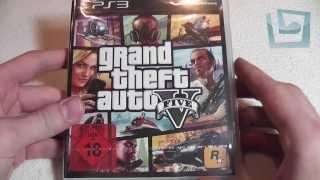 Spieltagebuch Unboxing - Grand Theft Auto V