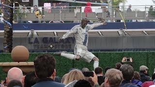 Mans Got A Statue | David Beckham Statue Unveiling | LA Galaxy vs Chicago Fire