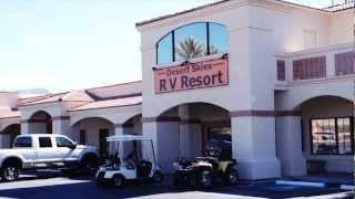 Desert Skies RV Resort -- The snowbird