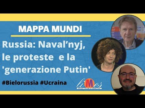 Russia: Naval'nyj, le proteste  e la 'generazione Putin' - Mappa Mundi