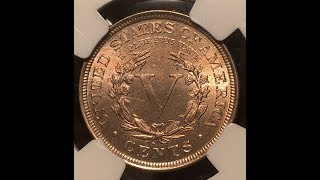 PCGS unboxing of proof cameo coins, and Morgan dollars. V nickel