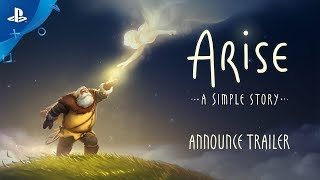 Arise: A Simple Story - Announce Trailer   PS4