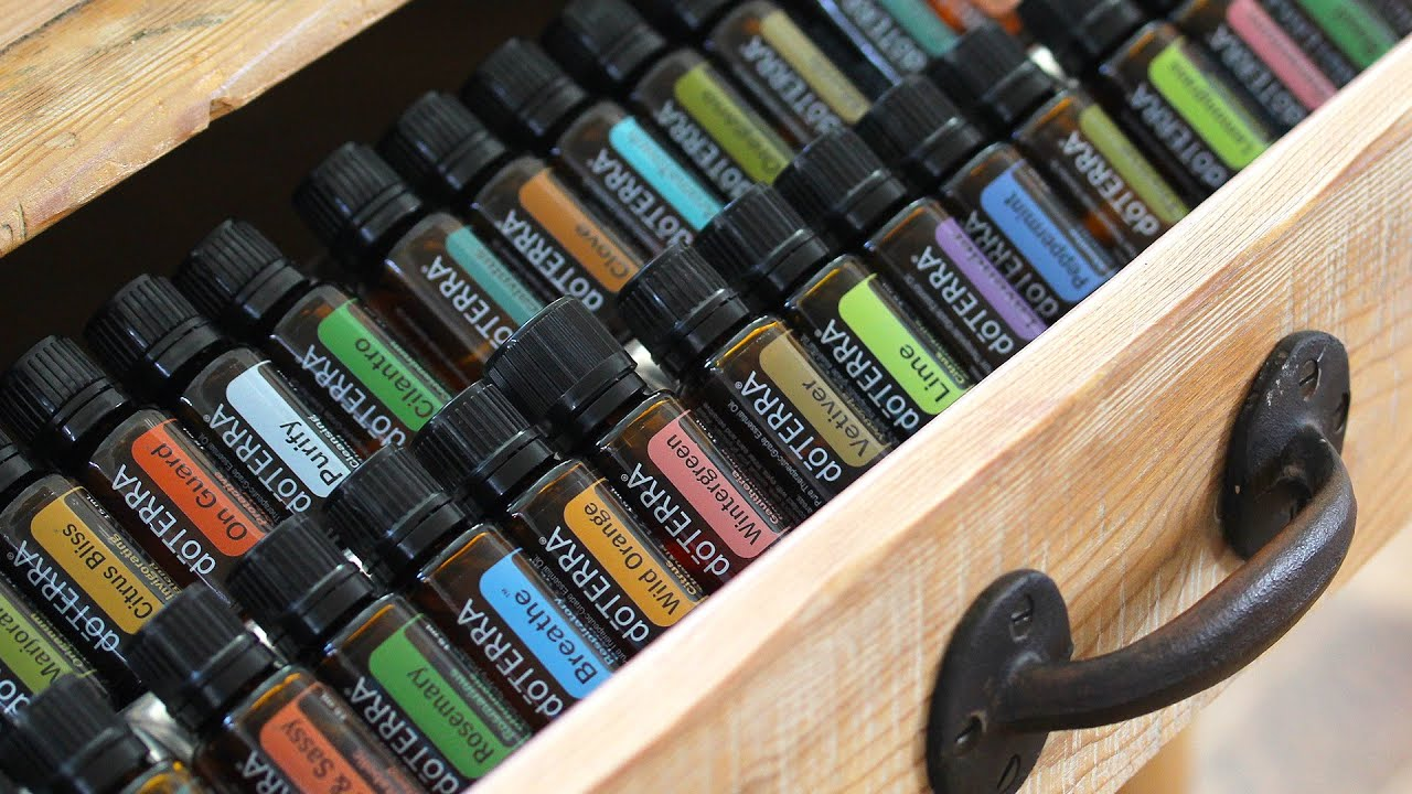 Organize  Display doTERRA Essential Oils with Simply