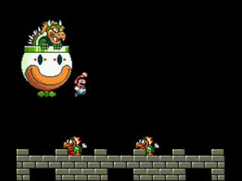 Bowser theme super mario world