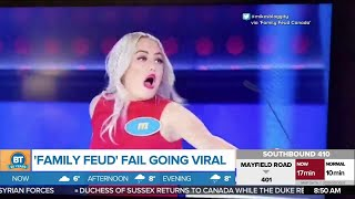 We Talk to the 'Family Feud' Contestant Who Went Viral!