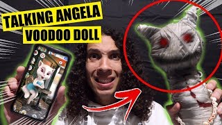 DO NOT MAKE A TALKING ANGELA VOODOO DOLL AT 3 AM!! (IT ACTUALLY WORKED!!)
