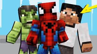 Minecraft, НО КТО ИЗ СУПЕРГЕРОЕВ ПРЕДАТЕЛЬ?