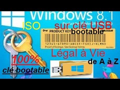 windows 8 1 l gal vie avec cl usb bootable m thode de. Black Bedroom Furniture Sets. Home Design Ideas
