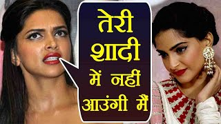 Sonam Kapoor - Anand Ahuja Wedding: Deepika Padukone will not attend Sonam's wedding | FilmiBeat