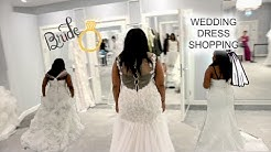 WEDDING DRESS SHOPPING...AGAIN! | THE STRUGGLES OF BEING A PLUS SIZE BRIDE | WEDDING SERIES EP.4