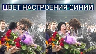 Филипп Киркоров поцеловал в губы бабушку Бузовой вместе танцуют на сцене