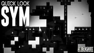 Sym: Quick Look (Puzzle Platformer, Indie game, gameplay, and review)