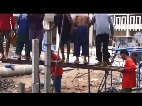 Video Lucu Orang Arab Kerja Bangunan bikin ngakak