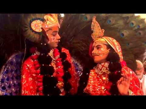 Radha Krishna Raas :: Exclusive Program :: Barsana Mathura India